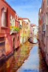 Colours Of Venice. watercolour