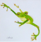 Tree Frog  -  Watercolour