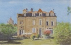 Stately Home - Watercolour